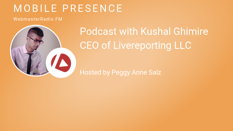 Image of Kushal Ghimire, CEO of Livereporting LLC