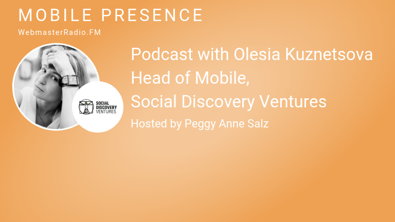 Image of Olesia Kuznetsova, Head of Mobile, Social Discovery Ventures