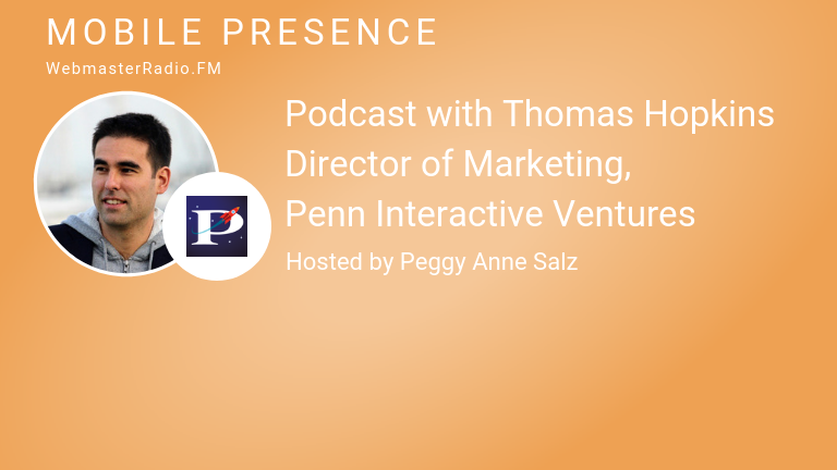 Image of Thomas Hopkins, Director of Marketing , Penn Interactive Ventures