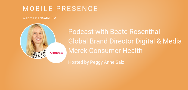 Image of Podcast with Beate Rosenthal Global Brand Director Digital & Media Merck Consumer Health