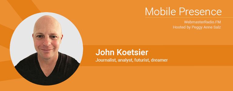 Image of John Koetsier journalist, analyst, futurist and VP of Insights at marketing intelligence platform Singular