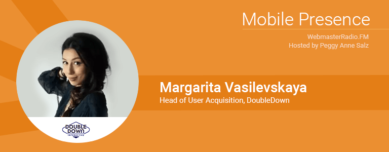 Image of Margarita Vasilevskaya, formerly Head of User Acquisition of Doubledown and now Director of UA at Scopely