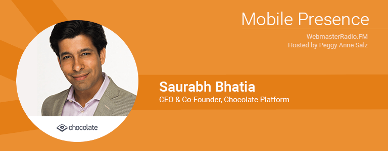 Image of Saurabh Bhatia, CEO and Co-Founder of Chocolate Platform