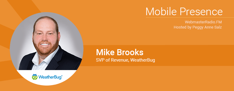 Image of Michael Brooks, SVP Revenue at Weatherbug