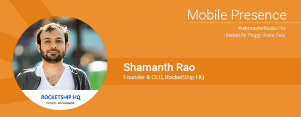 Image of Shamanth Rao, Founder & CEO, RocketShip HQ