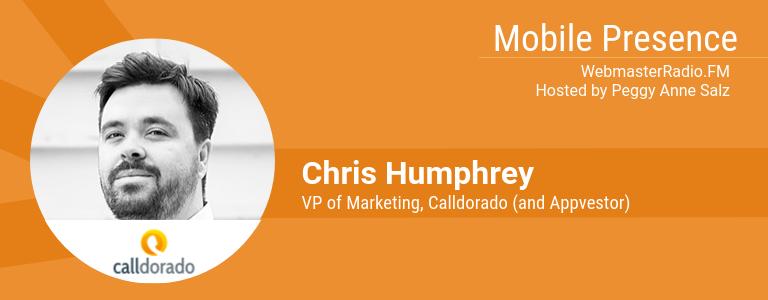 Image of Chris Humphrey, VP of Marketing at Calldorado