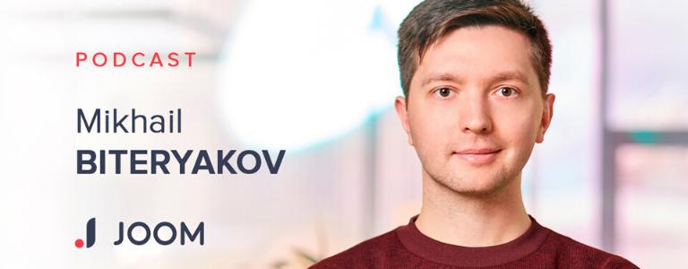 Image of Mikhail Biteryakov, Traffic Manager and Analyst at Joom