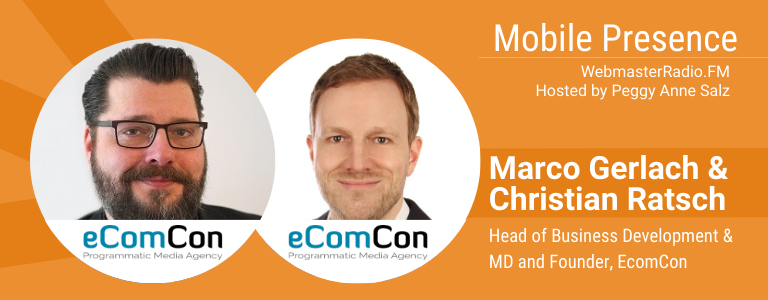 Image of Marco Gerlach, Head of Business Development, and Christian Ratsch, MD and Founder of eComCon