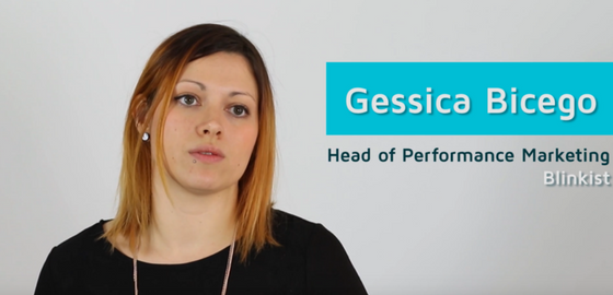 5Qs With Blinkist's Gessica Bicego
