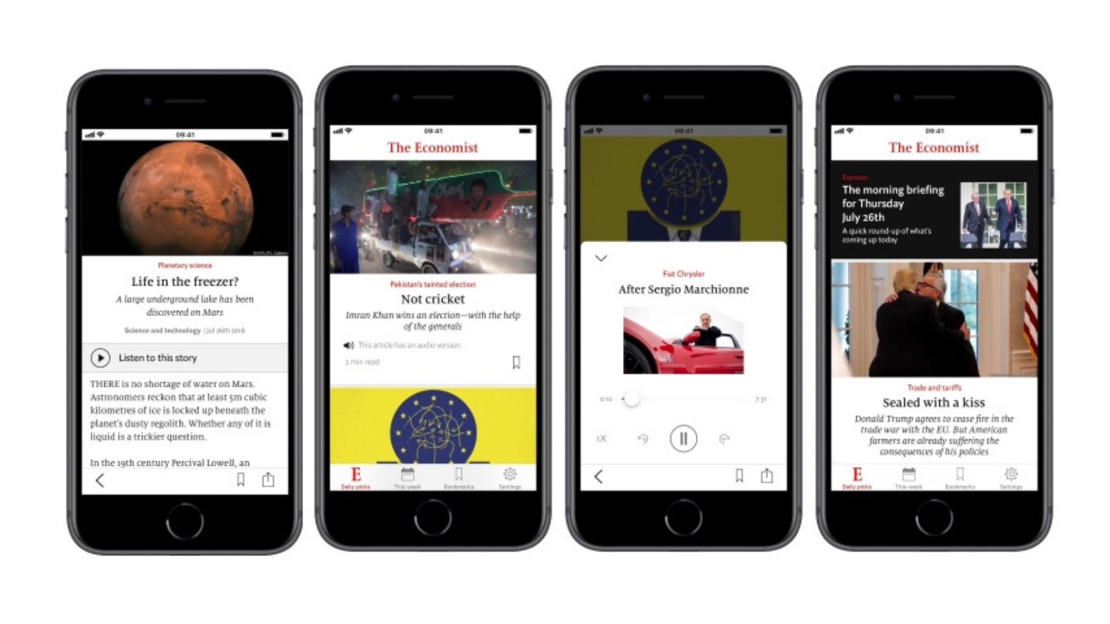 How The New Economist App Helps Its Audience Feel Less Guilty And Read More