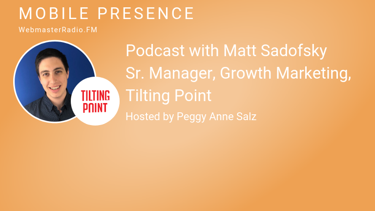 Image of Matt Sadofsky, Sr. Manager, Growth Marketing, Tilting Point