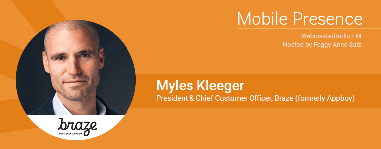 Image of Myles Kleeger, President and Chief Customer Officer ofBraze
