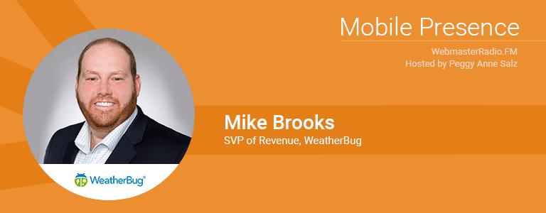 Image of Michael Brooks, SVP Revenue at Weatherbug
