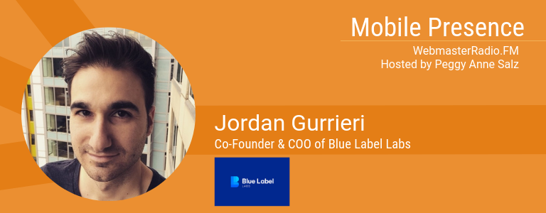 Jordan Gurrieri, Co-Founder & COO of Blue Label Labs