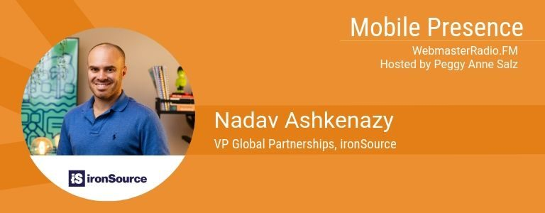Image of Nadav Ashkenazy, VP Global Partnerships, ironSource