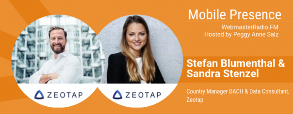 Image of Stefan Blumenthal, Country Manager DACH, and Sandra Stenzel, Data Consultant, at Zeotap