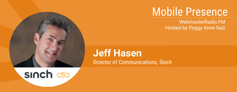 |Image of Jeff Hasen, Director of Communications, Sinch