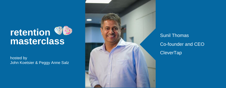 Image of Sunil Thomas, Co-founder & CEO of CleverTap