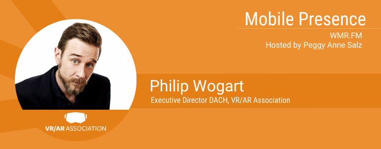 Philip Wogart, co-founder of HEADGEAR and Executive Director DACH for the VR/AR Association
