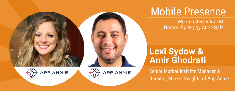 Image of Amir Ghodrati, Director, Market Insights and Lexi Sydow, Senior Market Insights Manager of App Annie