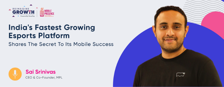 Image of Sai Srinivas Kiran G, Co-Founder & CEO at Mobile Premier League