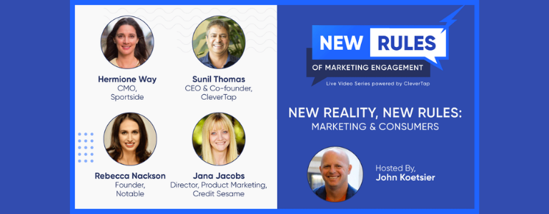 Image of webinar participants Episode #1: New Reality, New Rules of Marketing Engagement