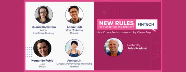 Image of webinar participnats for Episode #2: New Rules of Marketing Engagement: Fintech