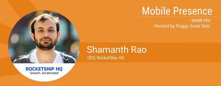 Image of Shamanth Rao, veteran growth marketer and CEO of RocketShip HQ