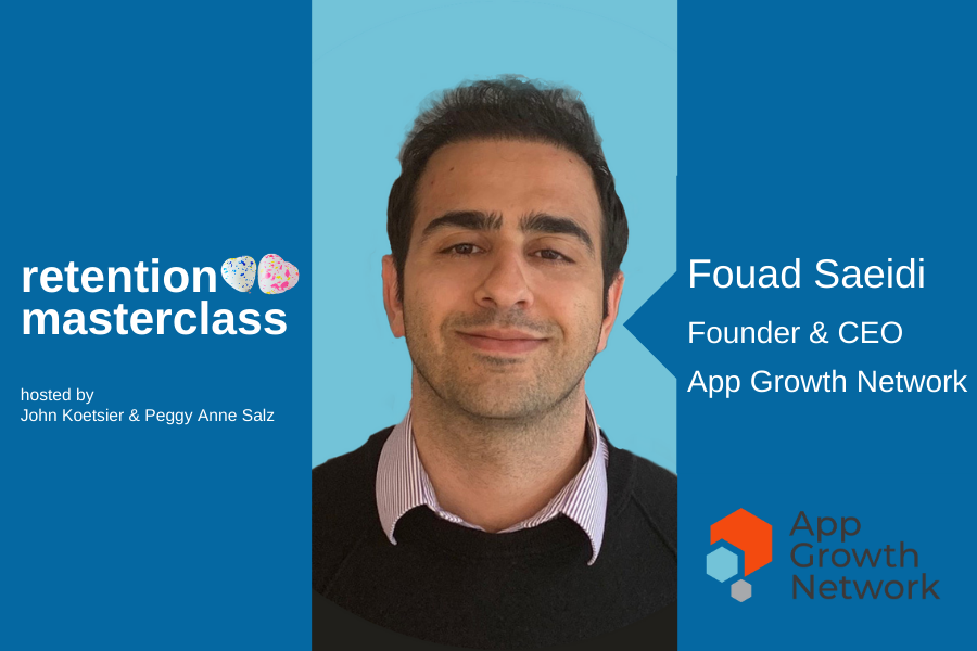 Image of Fouad Saeidi, founder of the App Growth Network