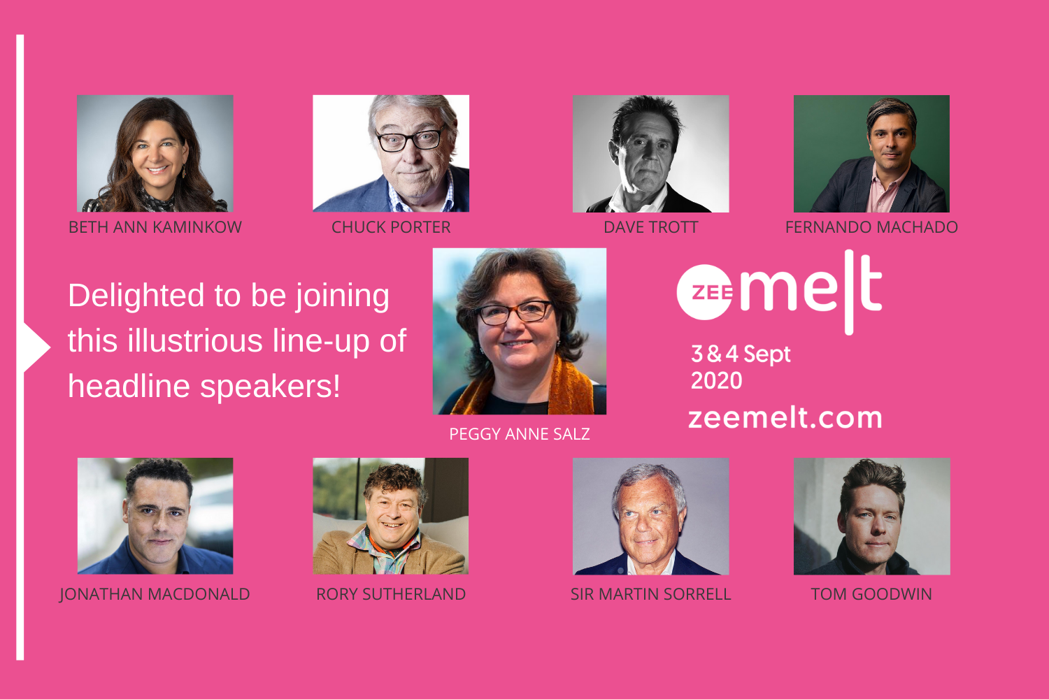 Join me at Zee MELT 2020 to define the Future of Marketing